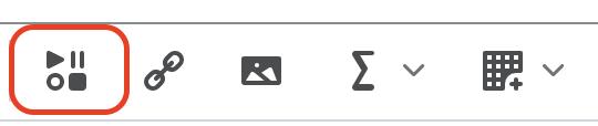 Screenshot of Insert Stuff button highlighted.