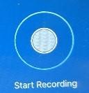 Start Recording Button