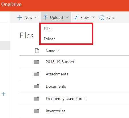 OneDrive - File or Folder - Screenshot