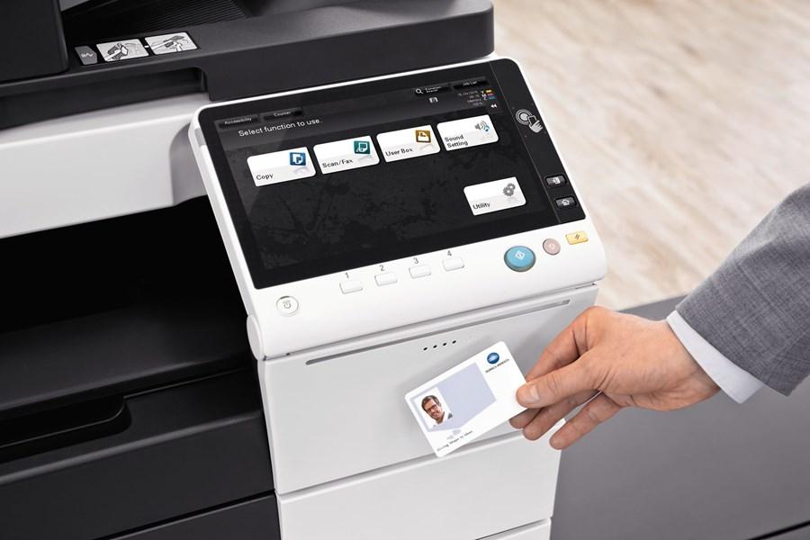 ID Scan on Printer