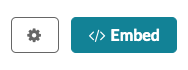 Screenshot of the Embed button