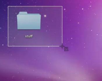 Mac Screenshot of Taking a Screenshot
