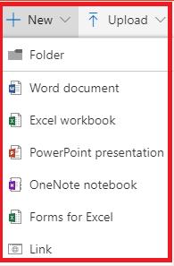 OneDrive - File or Folder - Dialog Box