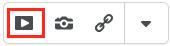 Screenshot of the insert stuff button highlighted.